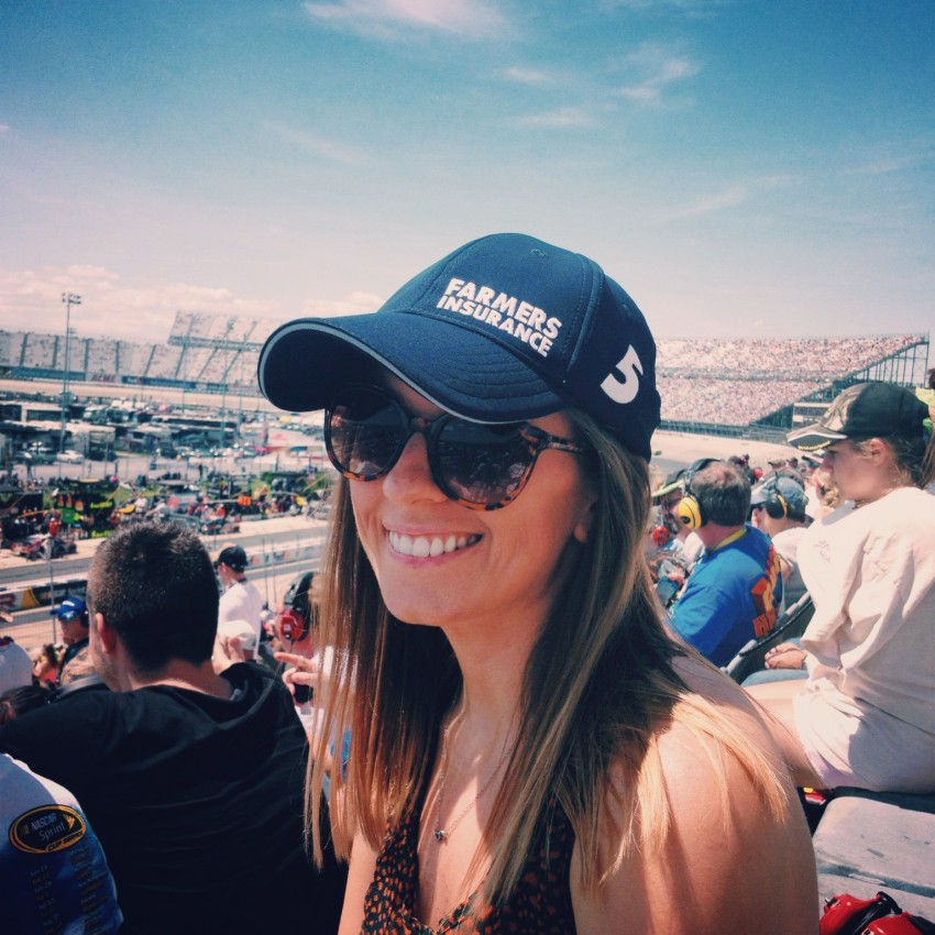 Take the Wheel and Drive: Life Lessons Learned from NASCAR via chelseadinen.com