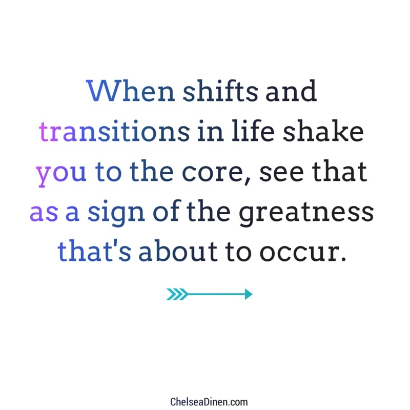 Shifts and transitions