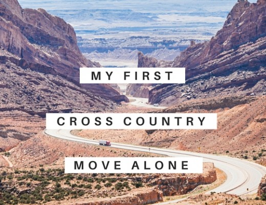 My first cross country move alone | ChelseaDinen.com