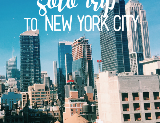 My Solo Trip to New York City | ChelseaDinen.com