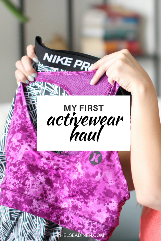 My First Activewear Haul | ChelseaDinen.com