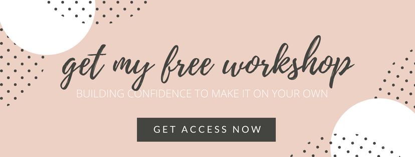Building Confidence Workshop | ChelseaDinen.com