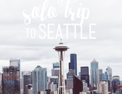 My Solo Trip to Seattle | ChelseaDinen.com